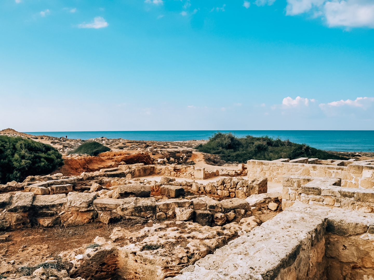 Tomb of the Kings Ruins in Paphos