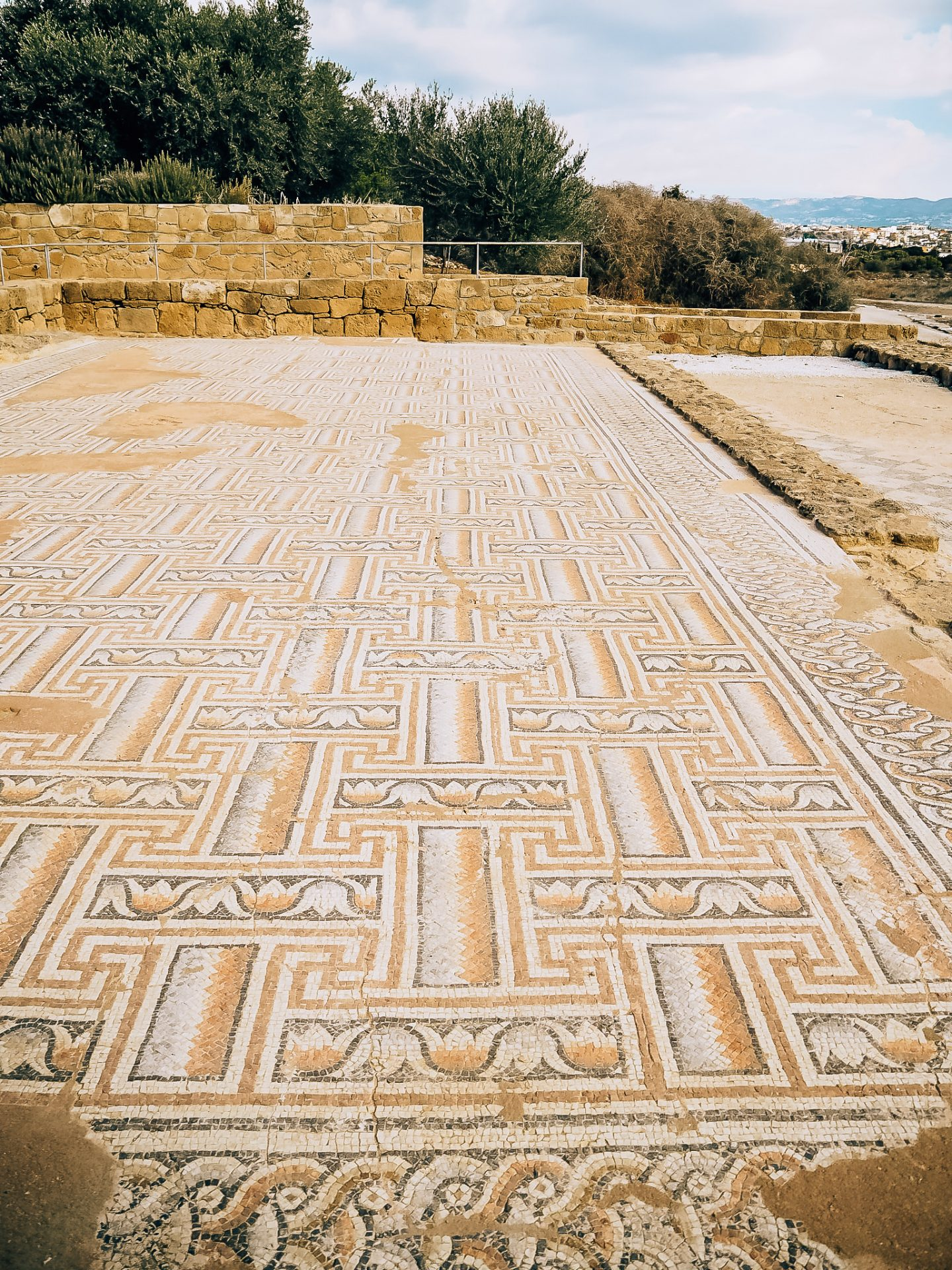 Paphos Mosaics in Paphos Cyprus