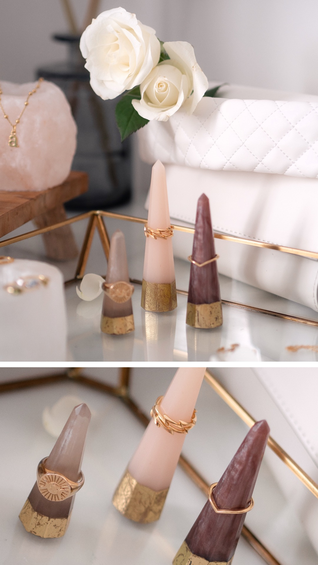Minimal Gold Jewellery Layering
